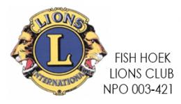 LIONS - Fish Hoek