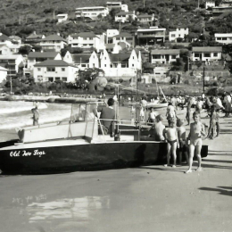 1958- ish Fish Hoek Beach