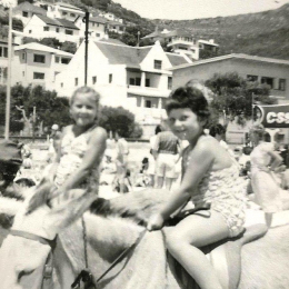 1958-ish Fish Hoek beach